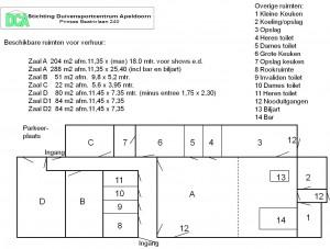 Ovz ruimten DCA 2